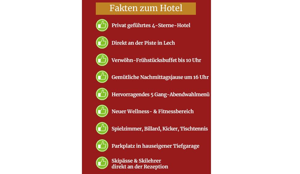 Fakten zum Hotel